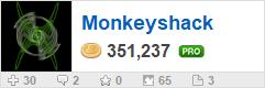 Monkeyshack's profile on WallpaperFusion.com