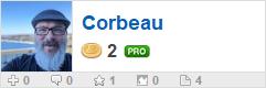 Corbeau's profile on WallpaperFusion.com