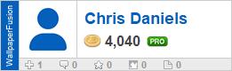 Chris Daniels' profile on WallpaperFusion.com