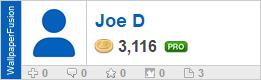 Joe D's profile on WallpaperFusion.com