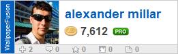 alexander millar's profile on WallpaperFusion.com