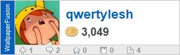qwertylesh's profile on WallpaperFusion.com