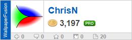 ChrisN's profile on WallpaperFusion.com