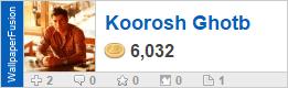 Koorosh Ghotb's profile on WallpaperFusion.com
