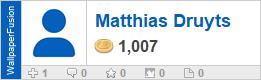 Matthias Druyts' profile on WallpaperFusion.com