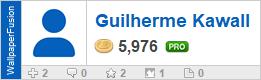 Guilherme Kawall's profile on WallpaperFusion.com