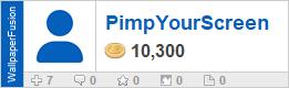 PimpYourScreen's profile on WallpaperFusion.com