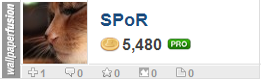 SPoR's profile on WallpaperFusion.com