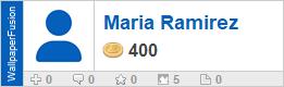Maria Ramirez's profile on WallpaperFusion.com