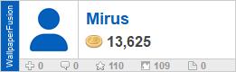 Mirus' profile on WallpaperFusion.com