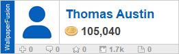Thomas Austin's profile on WallpaperFusion.com