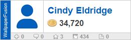 Cindy Eldridge's profile on WallpaperFusion.com