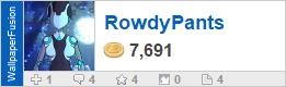 RowdyPants' profile on WallpaperFusion.com