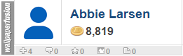 Abbie Larsen's profile on WallpaperFusion.com