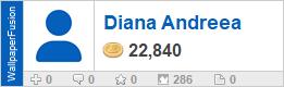 Diana Andreea's profile on WallpaperFusion.com