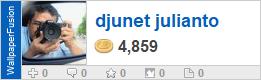 djunet julianto's profile on WallpaperFusion.com