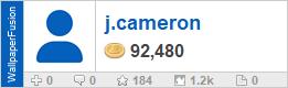 j.cameron's profile on WallpaperFusion.com
