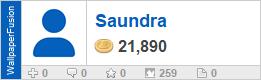 Saundra's profile on WallpaperFusion.com