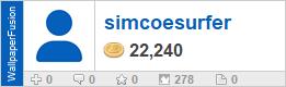 simcoesurfer's profile on WallpaperFusion.com