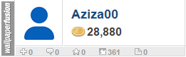 Aziza00's profile on WallpaperFusion.com