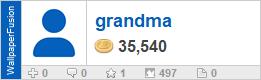 grandma's profile on WallpaperFusion.com