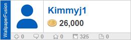 Kimmyj1's profile on WallpaperFusion.com