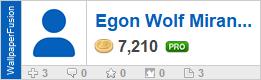 Egon Wolf Miranda159262's profile on WallpaperFusion.com