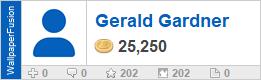 Gerald Gardner's profile on WallpaperFusion.com