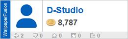 D-Studio's profile on WallpaperFusion.com