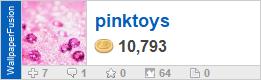 pinktoys' profile on WallpaperFusion.com