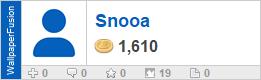 Snooa's profile on WallpaperFusion.com