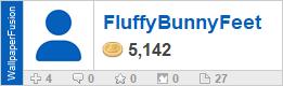FluffyBunnyFeet's profile on WallpaperFusion.com