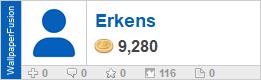 Erkens' profile on WallpaperFusion.com