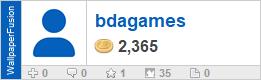 bdagames' profile on WallpaperFusion.com