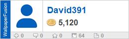 David391's profile on WallpaperFusion.com