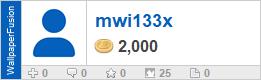 mwi133x's profile on WallpaperFusion.com